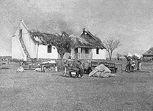 The Anglo Boer War - Burned Down Houses/Farms